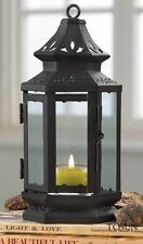20 BLACK STAGECOACH CANDLE LANTERNS TABLE WEDDING CENTERPIECES  NEW