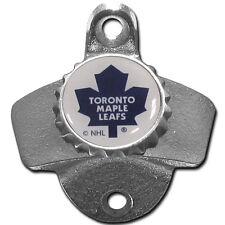 Toronto Maple Leafs Wall Mount Bottle Opener Zinc Aluminum Alloy NHL NEW!!