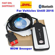 2016 Newest V5.008 R2 WoW SNOOPER With BLUETOOTH Cars Trucks Diagnostic Tool DHL