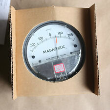 DWYER MAGNEHELIC GAGE DIFFERENTIAL PRESSURE GAUGE MAX 2300-500 pa NEW