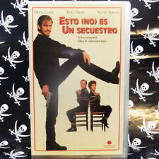 ESTO (NO) ES UN SECUESTRO (Ted Demme) VHS . Denis Leary, Judy Davis, Kevin Space