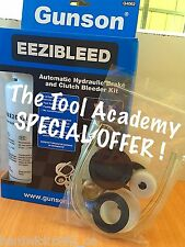 GUNSON OFFER! EEZIBLEED DIY BRAKE & CLUTCH BLEEDING TOOL + EXTRA SET OF CAPS!!