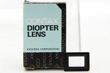 [UNUSED] Genuine Contax Diopter Lens FL -4 for RX/II S2/b 167MT NX from JP #271