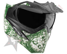 V-Force Grill Paintball Goggles / Mask - LE Zombie w/  LE Kryptonite Lens