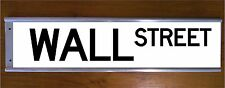 WALL STREET ROAD BAR SIGN - STOCKMARKET BUSINESS NEW YORK CITY