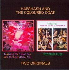 "Hapshash & The Colored Coat:  ""Human Host... / Western Flier""  (2on1 CD Reissue)"