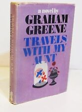 1st/1st TRAVELS WITH MY AUNT by GRAHAM GREENE HCDJ