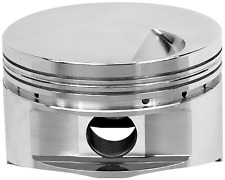"Manley BBC Chevy Flat Top Pistons 4.500"" Bore w/4.250"" 696300-8 Platinum Series"