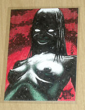 2013 Harlith's Horrors Crimson Artworks sketch card Jack Redd 1/1 #8