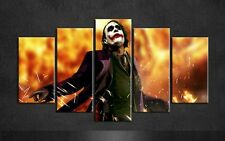 Unframed 5 Piece Home Decor Batman Joker Wall art canvas Painting Group Posters