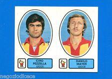 CALCIATORI PANINI 1977-78 - Figurina-Sticker n. 439 -PEZZELLA-MAYER LECCE-New