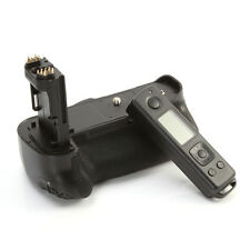 MEIKE Multi-Power Battery Pack Grip for Canon EOS 7D Mark II 7D2 +Remote Control