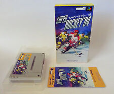 SUPER ICE HOCKEY 94 (4 Player) * SFC SNES Super Famicom JPN