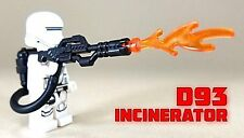 BrickArms D93 INCINERATOR Flamethrower for Lego Minifigures NEW Star Wars