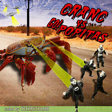 "CRANC Vs GO!POPITAS Split 7"" . punk rock ramones queers riverdales shock treatme"