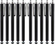 10 X Black Metal Universal Stylus Touch Screen Pen For iPhone 5 4 4S iPod iPad