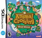 Nintendo DS Game Animal Crossing Wild World Working with DS, DS Lite, DSi, 3DS