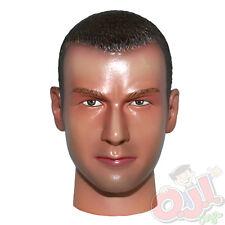 """Dragon Models Head Sculpt (Brunette Caucasian) for 12"""" Male Figures 1:6 (1181d1)"""