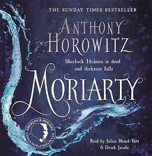 Moriarty by Anthony Horowitz (CD-Audio, 2014).  Sherlock Holmes Audio Book