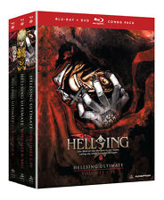 Hellsing Ultimate Collection Vol. 1-10 I-X (Blu-ray/DVD 13-Disc) COMPLETE Series