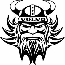 Motorsport Rally Car Exterior Vinyl Decals Volvo Viking Stickers x 2