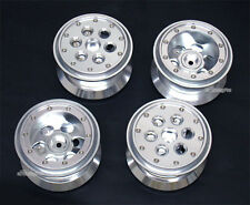 "Aluminum 2.2""Beadlock Weighted Build-in Wheel Fit Tamiya Land Cruiser CR01 CR-01"