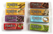 8 booklets - MANTRA flavored Rolling paper size 1 1/4 - 8 different flavors