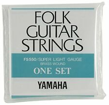 YAMAHA / FS-550 Super Light Yamaha Acoustic Guitar Strings [1set]