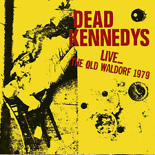 DEAD KENNEDYS - Live... The Old Waldorf 1979. New CD + sealed ** NEW **