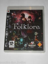 Jeu PS3 Folklore Sony playstation 3