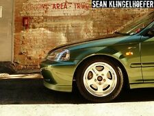 Password JDM EK 99-00 Honda Civic JDM Spec Fenders (No Sidemarker) Pre-Cut