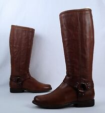 Frye Phillip Harness Boot- Brown- Size 7 B  (B71)