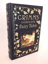 Beautiful Grimm's Complete Fairy Tales Leather Bound Book - Barnes & Noble 1993