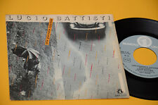 "LUCIO BATTISTI 7"" 45 UNA GIORNATA UGGIOSA 1°ST ORIG 1980 EX TOP COLLECTORS"