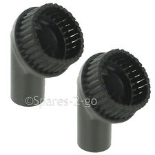 2 x Round Dusting Brush Tool for Nilfisk Vacuum Cleaner 35mm Hoover Part Spare