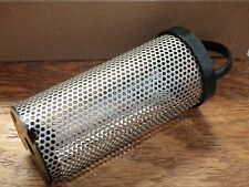 "STRAINER BASKET GROCO 34 BS1 SS69B FITS ARG500 AND ARG755 4"" SCREEN 304S/S ARG"