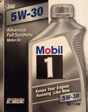 Mobil 1 94001 5W-30 Synthetic Motor Oil -  - 2 Quarts -  - QUICK FREE SHIPPING