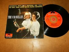 THE CARAVELLES  - EP FRENCH POLYDOR 60106  / LISTEN / TEEN GIRL POPCORN