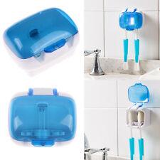 Double UV Dental Care Family Toothbrush Sterilizer Sanitizer Cleaner Case Holder