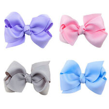 20Pcs Hair Bows Band Boutique Alligator Clip Grosgrain Ribbon For Girl Best Sale
