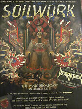 Soilwork, The Panic Broadcast, Full Page Promotional Ad