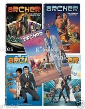 Archer TV Series ~ Complete Season 1-5 (1 2 3 4 & 5) ~ BRAND NEW 10-DISC DVD SET