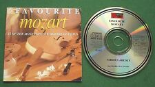 Favourite Mozart inc Rondo Alla Turca / Don Giovanni Overture + CD