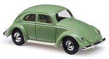 Coche a escala Busch (H0 42714): VW Escarabajo con Ventana pretzel 1951, Verde
