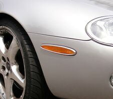 Jaguar XK8 & XKR Chrome Side Reflector Trims