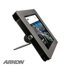 TAB05183KIT: iPad Desktop Stand w/ Key Lock for iPad 4, 3, 2, iPad Air 2 - Black