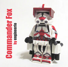 LEGO Custom -- Commander Fox - Star Wars Clone Trooper Minifigure 7681 thorn
