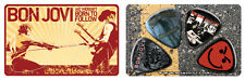 Bon Jovi PikCard Collectible Custom Guitar Picks (4 picks per card)