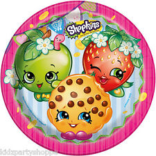 SHOPKINS DINNER Luncheon PLATES Birthday Party Supplies Buffet Tableware
