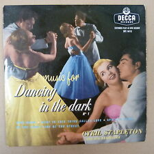 45rpm MUSIC FOR DANCING IN THE DARK 1, Cyril Stapleton , Decca DFE6413
